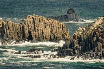Uitzicht vanaf Lighthouse Road op Bruny Island, Tasmanië von Sven Wildschut