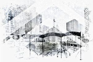 Geometric Art CHICAGO Downtown