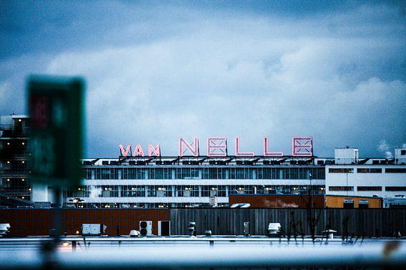 Flaneren over de A 13 | Rotterdam | 16-4-2016 van Shui Fan