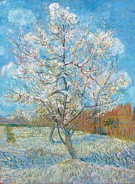 Der rosa Pfirsichbaum - Vincent van Gogh von