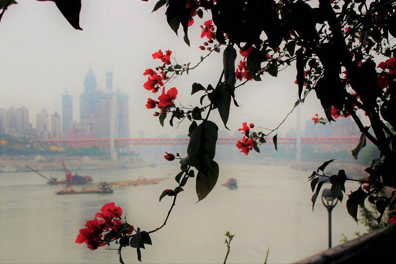 Poésie du fleuve Yangtze 1 sur Loretta's Art