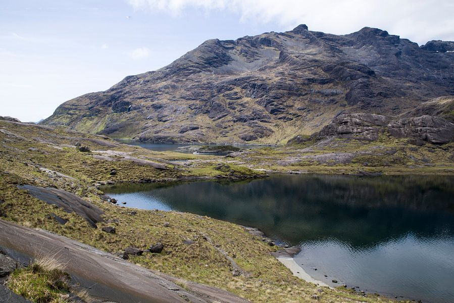 Loch Coruisk - Isle of Skye Scotland (1) van Eriks Photoshop by Erik Heuver