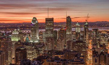 Skyline Montreal von