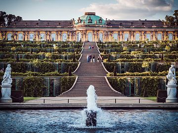 Potsdam – Schloss Sanssouci von Alexander Voss