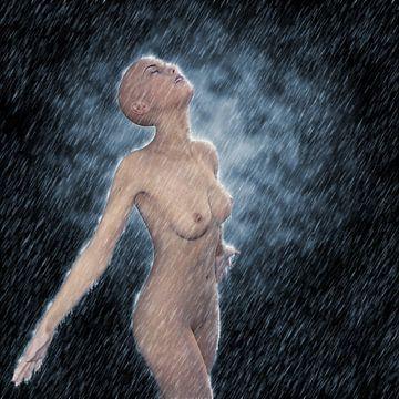 Abkühlung (künstlerischer Akt) von Fotografie Jeronimo