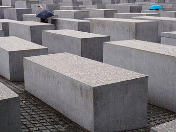 Holocaustmonument in Berlijn, van