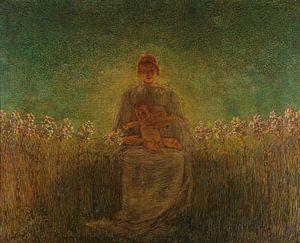 Madonna der Lilien, Gaetano Previati
