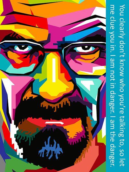Pop Art Breaking Bad van Jan Willem van Doesburg
