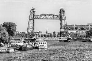 Rotterdam, zicht op de Hef van