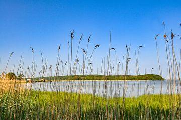 Lagune bij de Great Jasmund Bodden bij Lietzow van GH Foto & Artdesign