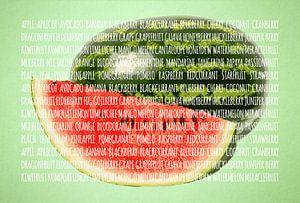 Fruities in kleur Watermeloen