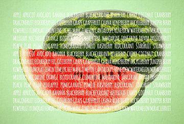 Fruities in kleur Watermeloen sur Sharon Harthoorn