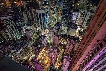 Hong Kong Rooftops van Mario Calma