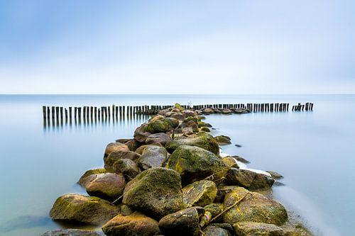 Golfbreker aan het IJsselmeer, Enkhuizen