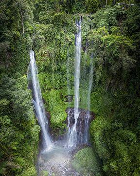 Bali-Wasserfall von Nick de Jonge - Skeyes