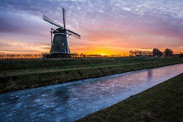Typische nederlandse winterochtend van Eelke Brandsma
