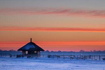 Wintermorgen van Erik Baksteen