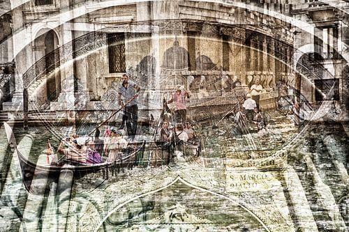 Digitale kunst in Venetië van