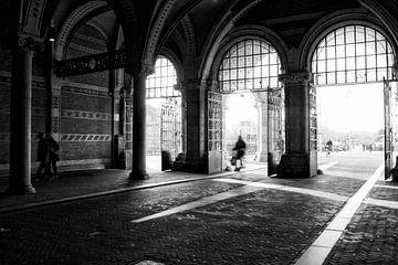 Unterwegs in Amsterdam (Niederlande) von Birgitte Bergman