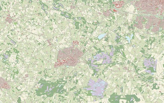 Kaart vanHaaksbergen