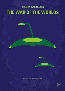 No118 My WAR OF THE WORLDS minimal movie poster van Chungkong Art