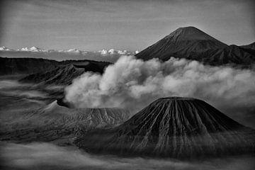 Bromo (vulkaan) van Jan Pel