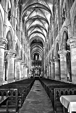 Kerk in Lisieux von Lisa Groothuis