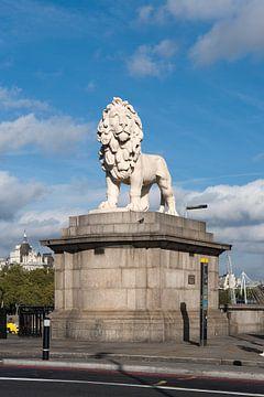 Bild des Löwen der South Bank von Elles Rijsdijk