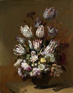 Stillleben mit Blumen, Hans Bollongier von Rebel Ontwerp