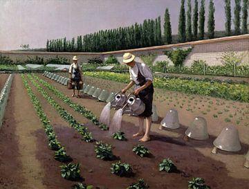 Die Gärtner, Gustave Caillebotte