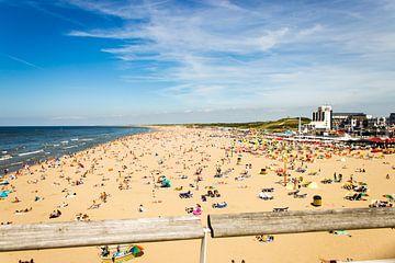 Scheveiningen strand van thomas van der Wijngaard