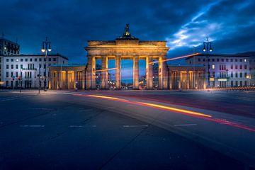 Blue Hour Brandenburger Tor von Iman Azizi