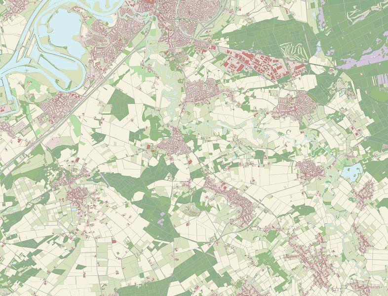 Kaart vanRoerdalen