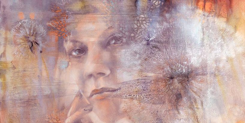 Tenderly - Nora und die Pusteblumen - Variante III von Annette Schmucker