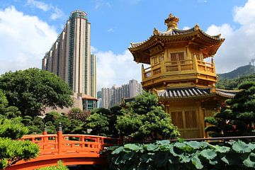Nan Lian Garden - Chinese tuin Hong Kong China van Martin van den Berg Mandy Steehouwer