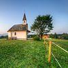 Chapel at the Chiemsee van Michael Valjak thumbnail