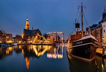 Maassluis in Zuid Holland van Adelheid Smitt