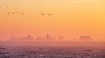 Winterlandschaft. von Nico Boersma
