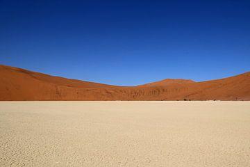 Namibië landschap van Linda Ubels