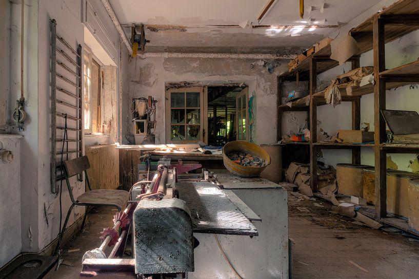 Verlassene Werkstatt von Vivian Teuns