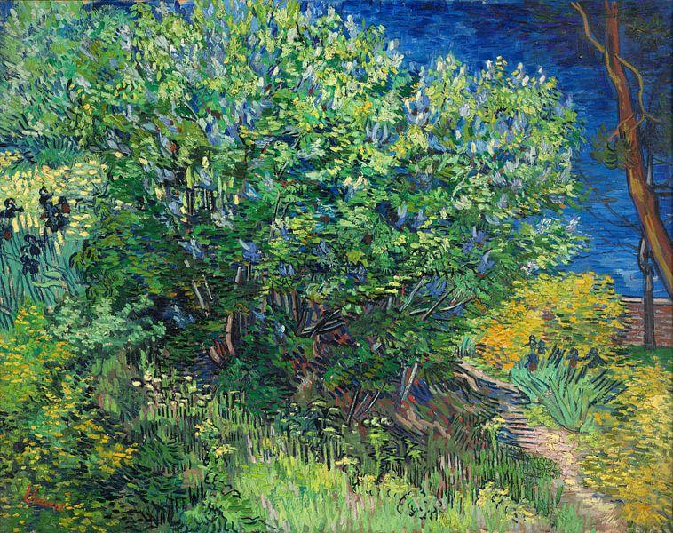 Lilac Bush - Vincent van Gogh  sur Marieke de Koning