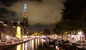 Westerkerk - Prinsengracht - Amsterdam van