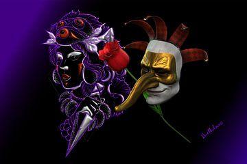 Magisch masker van Norbert Barthelmess