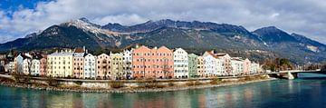 Innsbruck en Nordkette van Leopold Brix