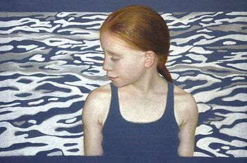 Girl at the Pool, 2013 von Sylvie Overheul