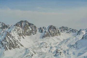 Schneebedeckte Berge von Sanne Lillian van Gastel