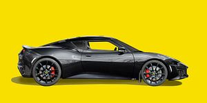 Lotus Evora 400 in origineel zwart van aRi F. Huber
