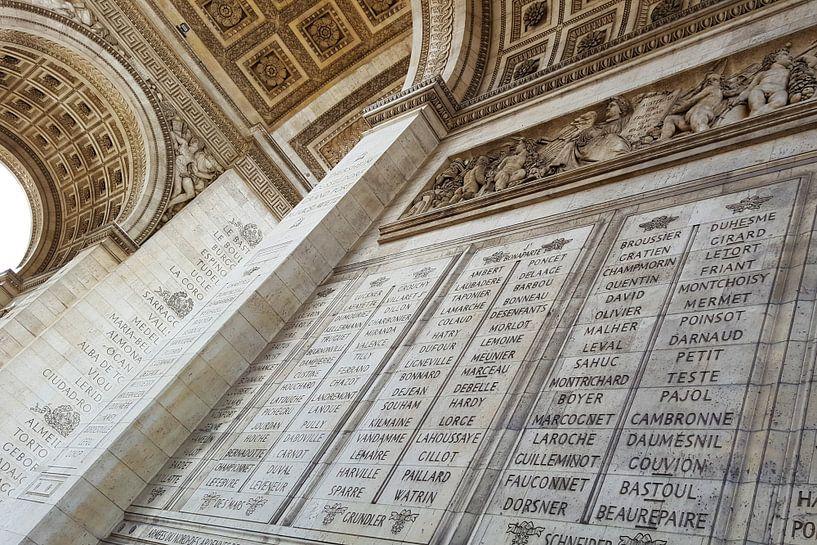 Arc de Triomph, Paris van Maikel van Willegen Photography