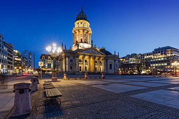 La cathédrale allemande sur le Gendarmenmarkt à Berlin sur Frank Herrmann