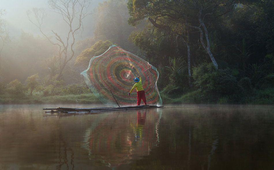 Fisherman van Edwin van Unen